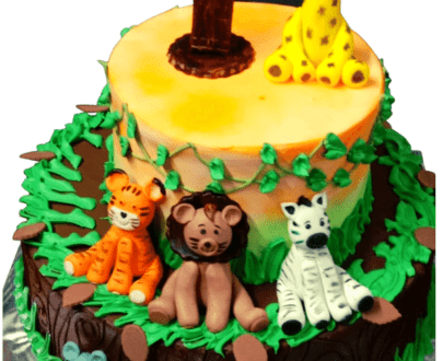 Jungle Theme Cake in Pune Designs, Images, Price
