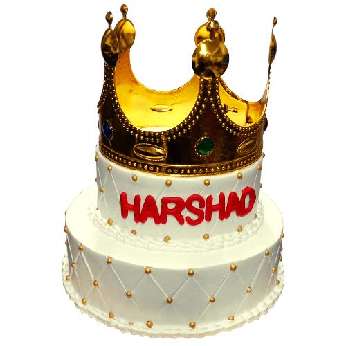 Crown Fresh Cream Cake in Pune Designs, Images, Price