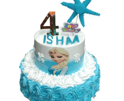 Frozen Theme Cake / Elsa Theme Cake in Pune Designs, Images, Price