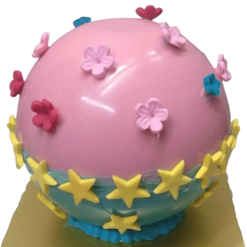Pink and Blue Pinata Cake in Pune Designs, Images, Price