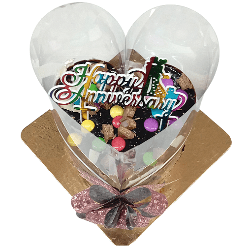 Heart Shaped Pull Me Up Cake in Pune Designs, Images, Price